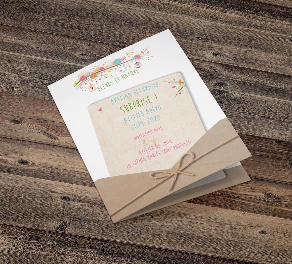 Carte cadeau Fleuriste