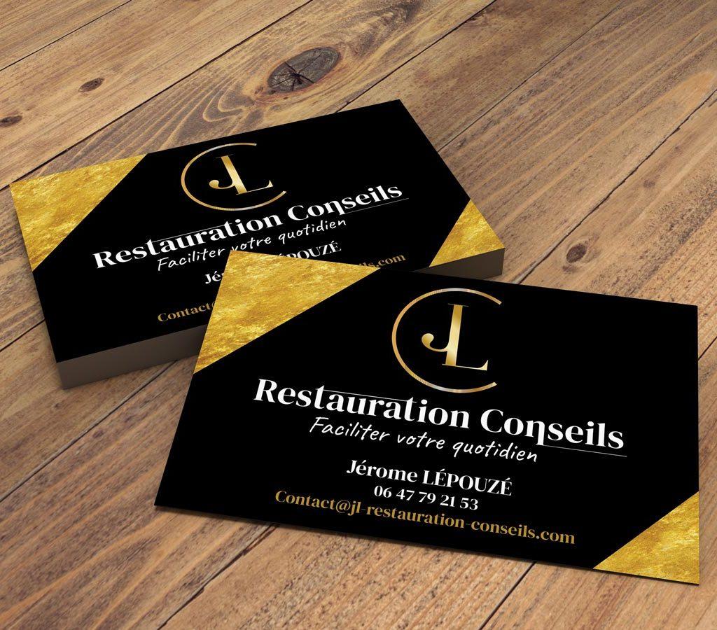 Carte de visite JL Restauration Conseil