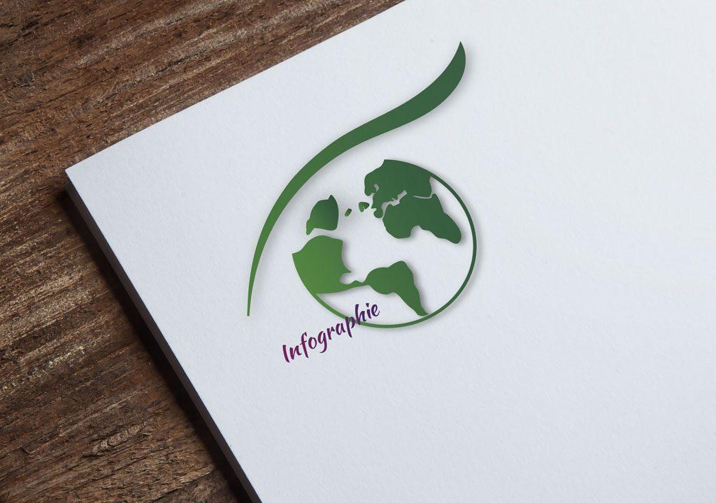 Logo Alexandra Martel Infographiste