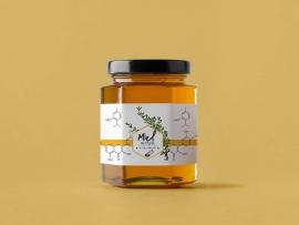 Packaging étiquette miel