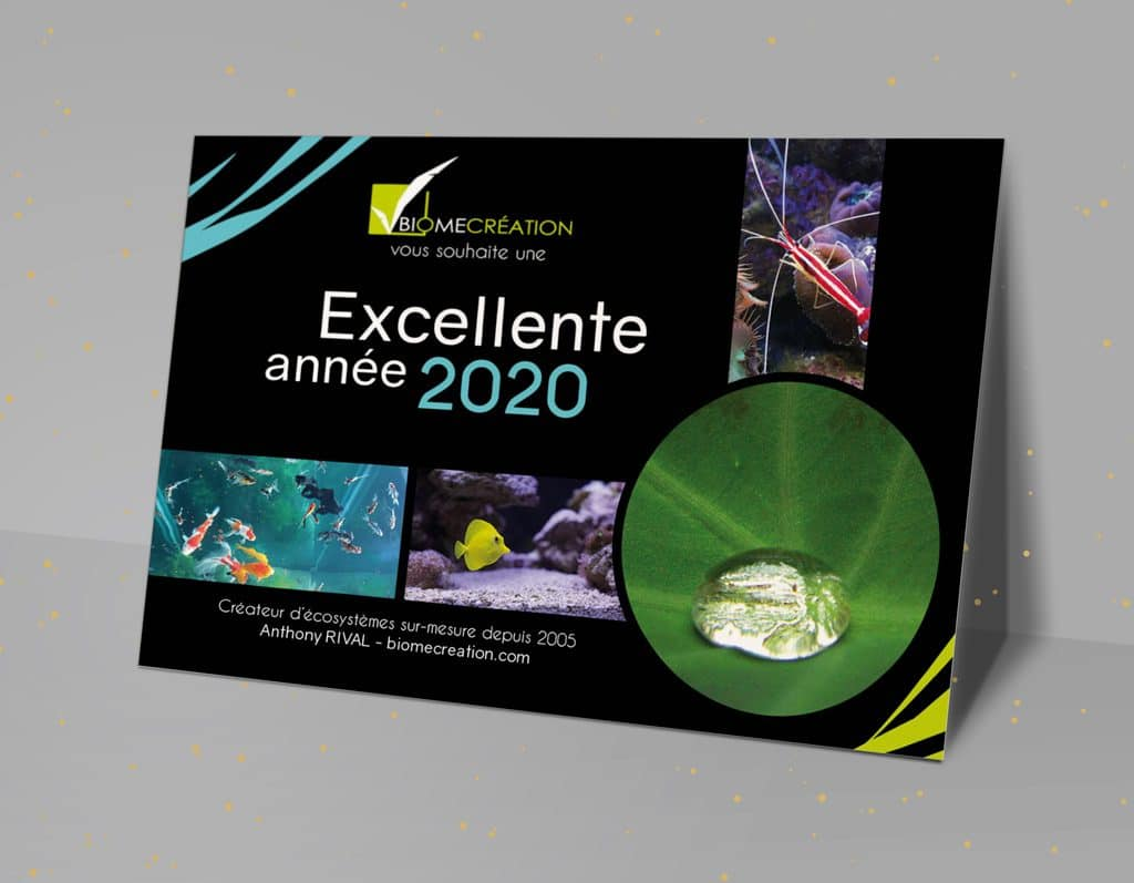 Carte Voeux 2020 Biome